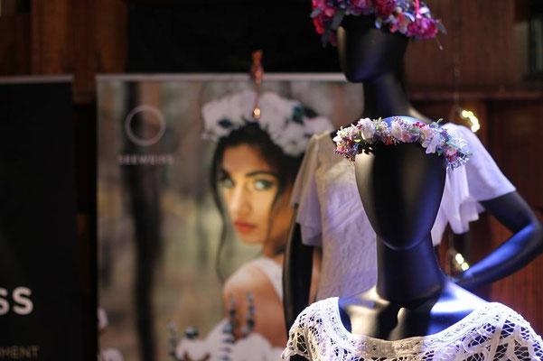 Brautkleid und Accessoires für die Braut
