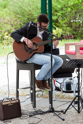 Live Musik bei einer freien Trauung