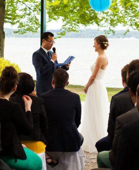 Interkulturelle freie Trauung am Starnberger See