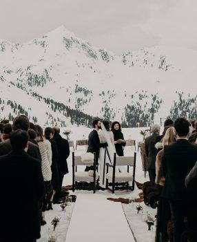 Heiraten, ganz in weiß: Hochzeit im Winter!