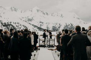 Winterhochzeit, Heiraten in den Bergen, Hochzeit im Januar