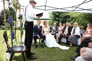 Morten Edzards ist freier Redner und schreibt berührende Hochzeitsreden
