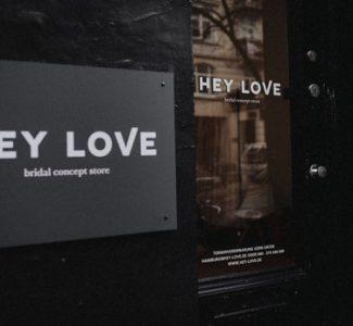 Brautkleider mit Style! Den Bridal Concept Store HEY LOVE gibt es jetzt in München & Hamburg