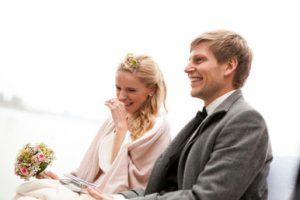 Hochzeit am Meer mit Hochzeitsrednerin von Strauß & Fliege
