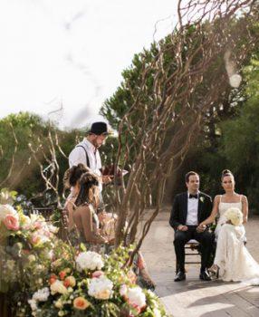 Bilingual wedding ceremony on Sardinia
