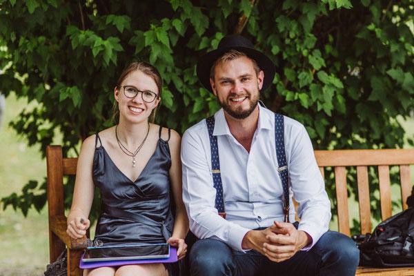 Graphic Recording auf Eurer Hochzeit mit Strauß & Fliege und VerVieVas