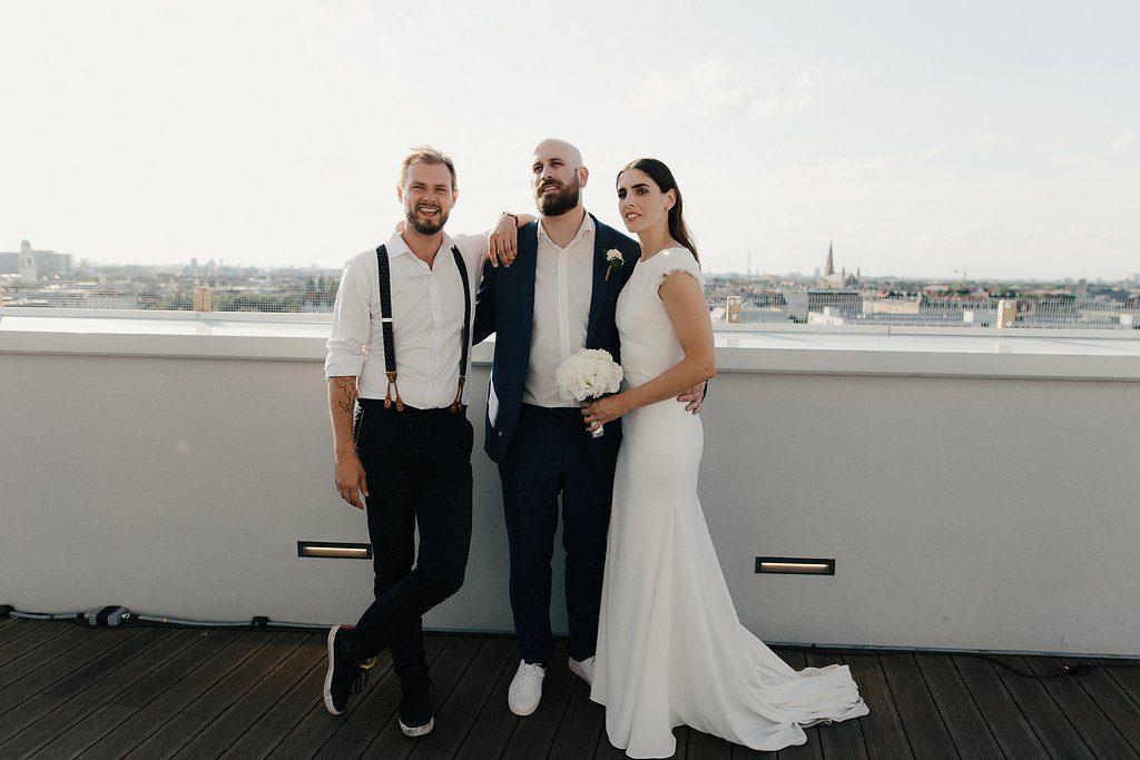 Freie Trauung über den Dächern von München, The Original Copy Hochzeit