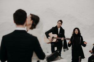 Winterhochzeit im Januar, Heiraten in den Bergen, Heiraten im Schnee