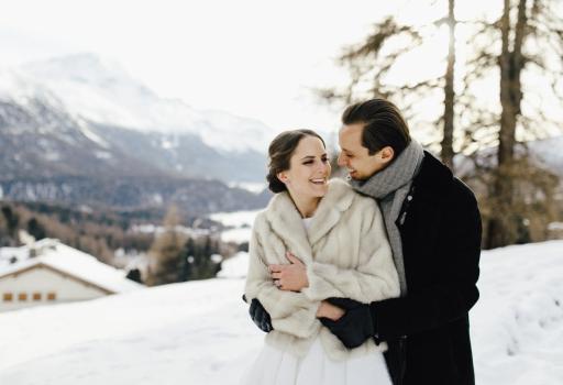 Freie Trauung 2019, Schneelandschaft, Winterhochzeit
