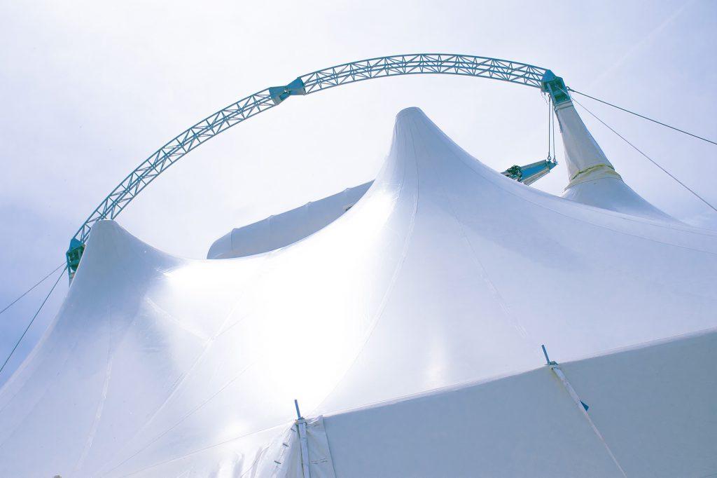 Das Zelt ist einzigartig für Eure Hochzeit!