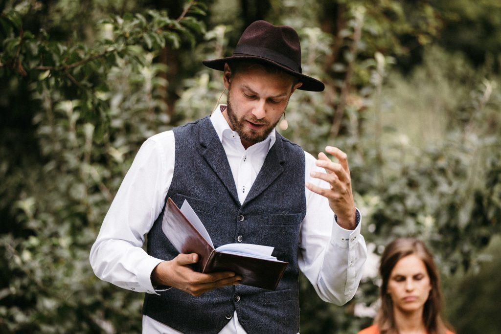 Johann-Jakob Wulf ist einer der besten Hochzeitsredner Deutschlands