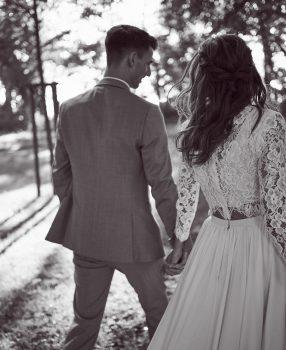 Wedding ceremony in english