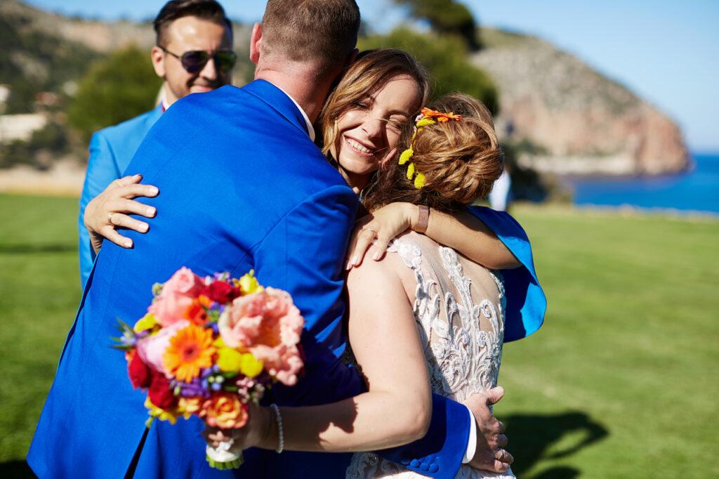Wedding Planer Kristin Dorst von festlicher mit einem glücklichen Brautpaar