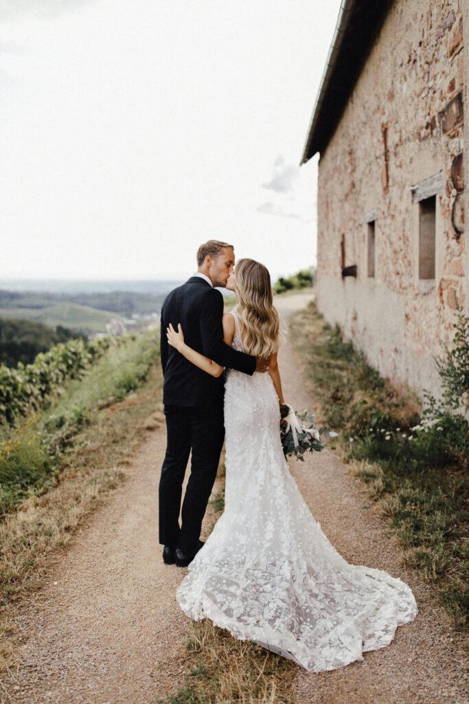 Hochzeitspaar in der Toskana Italien Destination Wedding