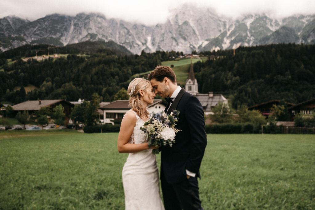 Hochzeit in den Alpen