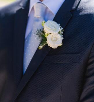 Blumen Bräutigam   Accessoires Hochzeit   Strauß & Fliege
