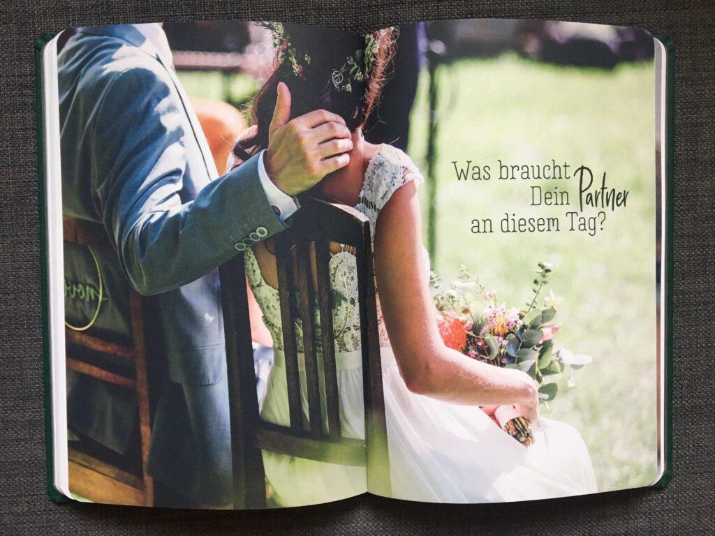 Verlobungsgeschenk | Achtsamkeit | Notizbuch | Strauß & Fliege