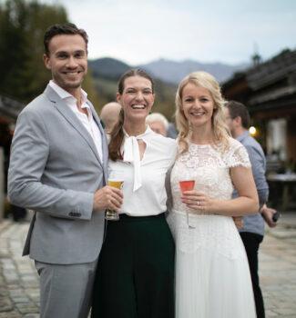 Traurednerin München | Hochzeitsrednerin Marina Lessig | Strauß & Fliege