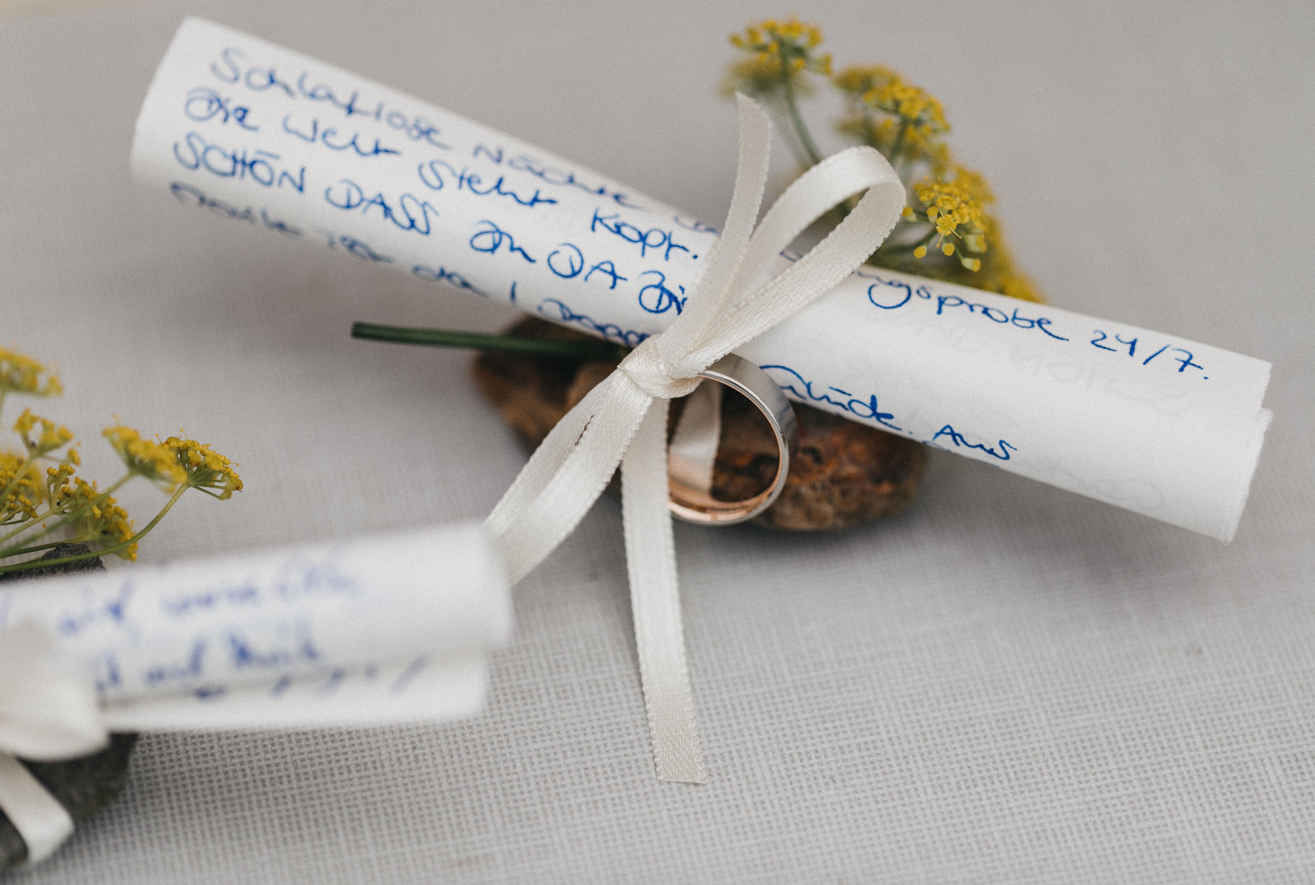 Eheversprechen schreiben   Inspiration und Beratung   Strauß & Fliege
