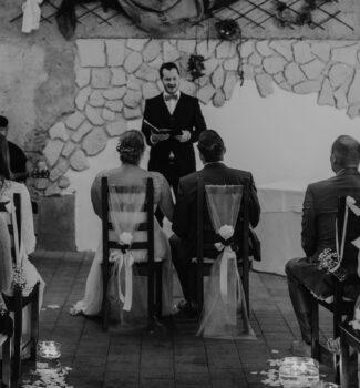 Freie Trauung mit Hochzeitsredner Simon Zimmermann   Strauß & Fliege